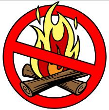 Interdiction de feux à ciel ouvert sur le territoire