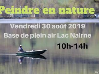 Peindre en nature - Vendredi 30 août 2019