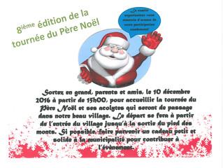 Parade du Père Noël à Saint-Aimé-des-Lacs !