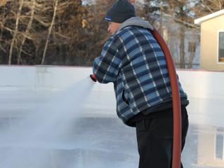 Heures d'ouverture de la patinoire.