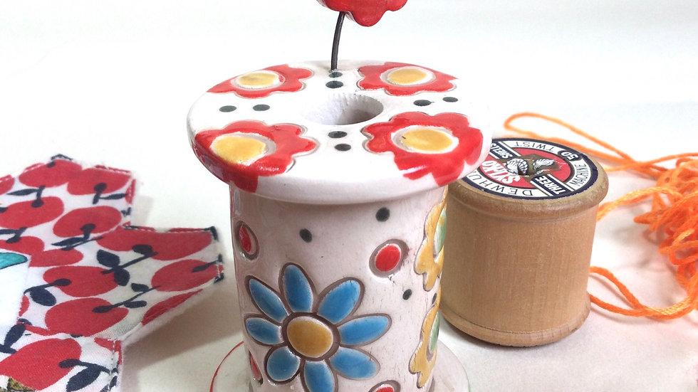 Handmade Ceramic Bobbin