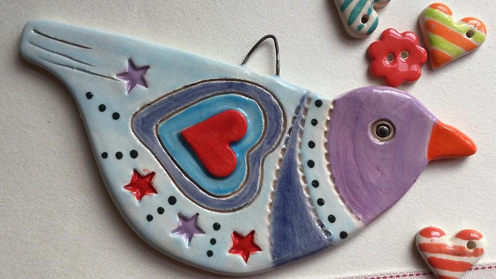 Handmade Ceramic Bird