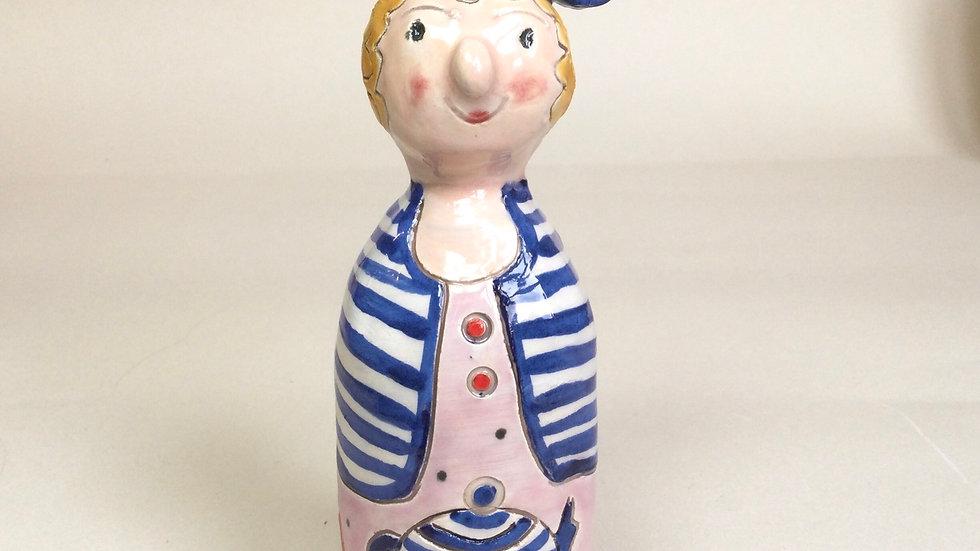 Handmade Ceramic Figure