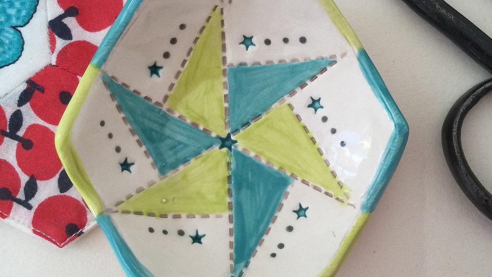 Small Hexie Dish
