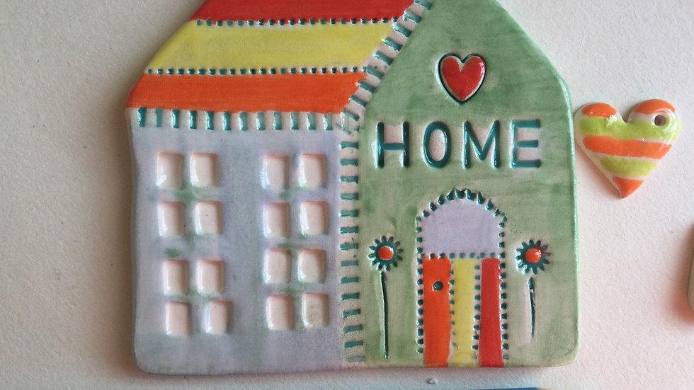 Handmade Ceramic House