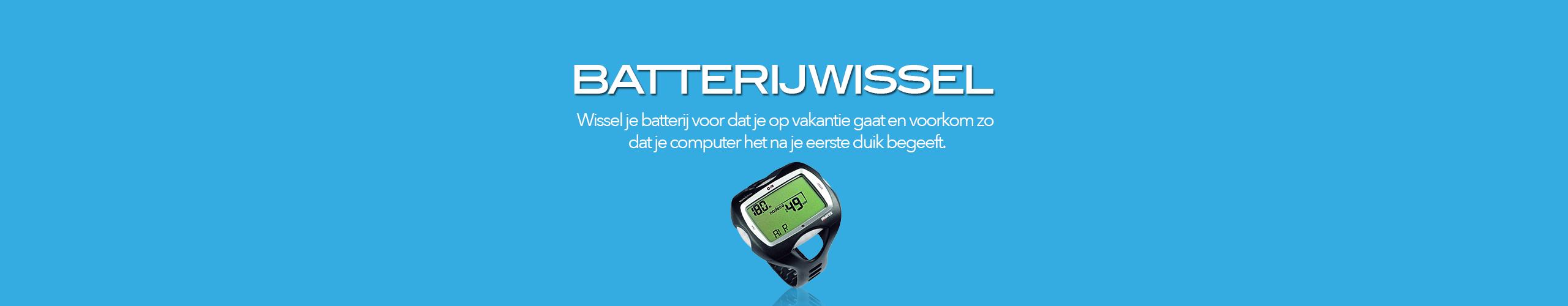 Batterijwissel computer