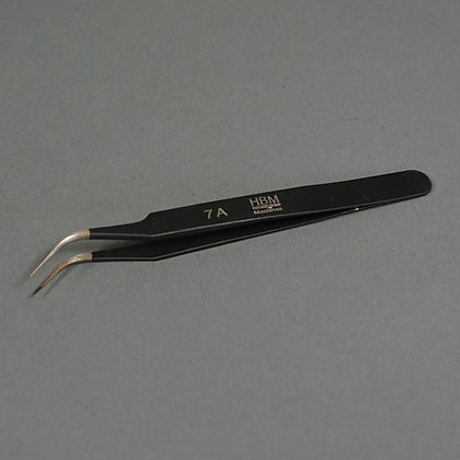 Bend nose tweezers