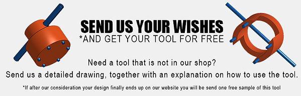 Design your own scuba tool