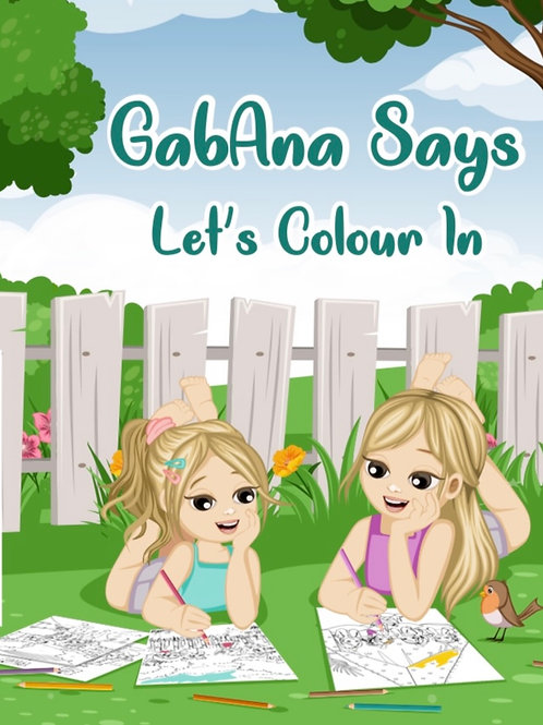 GabAna says Let's Colour In
