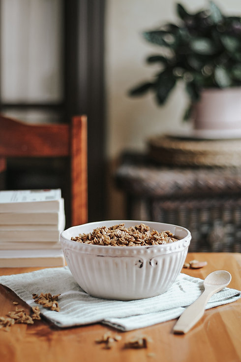 Granola multigrains à la vanille