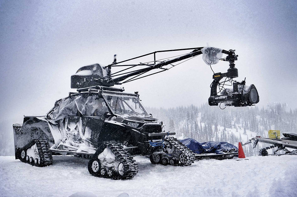 RZR 4x4 with Russian Arm for offroad and snow