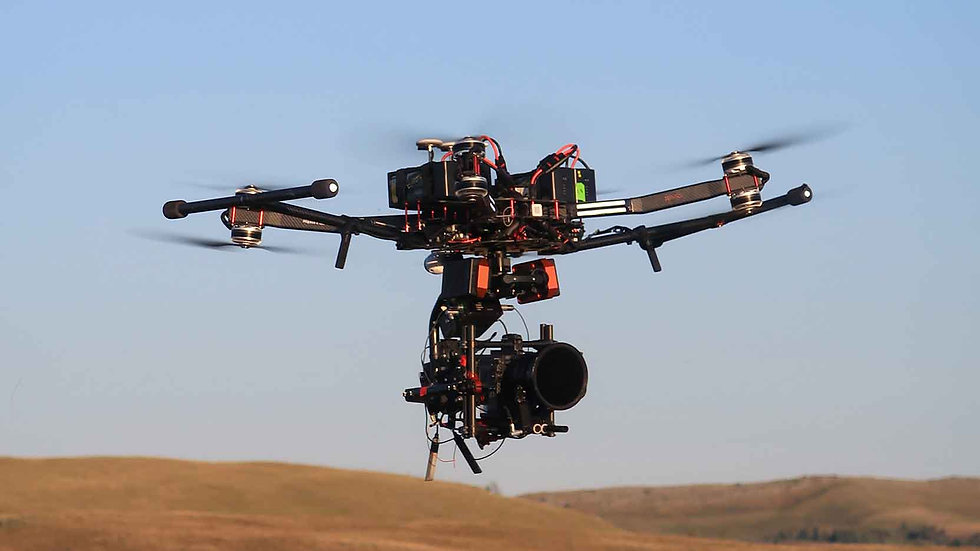 Rapture X8 heavylift drone flying camera package