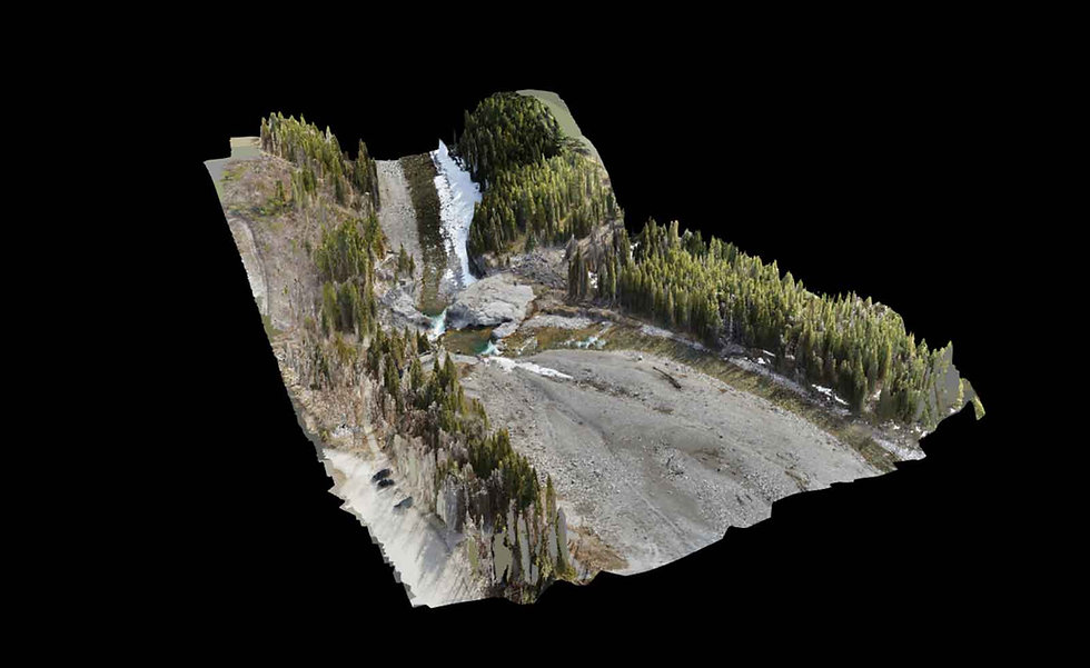 Photogrammetry creates 2D or 3D models using RTK ground control points