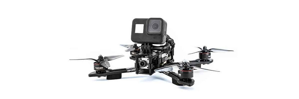 FPV drones for indoor and high speed chase.