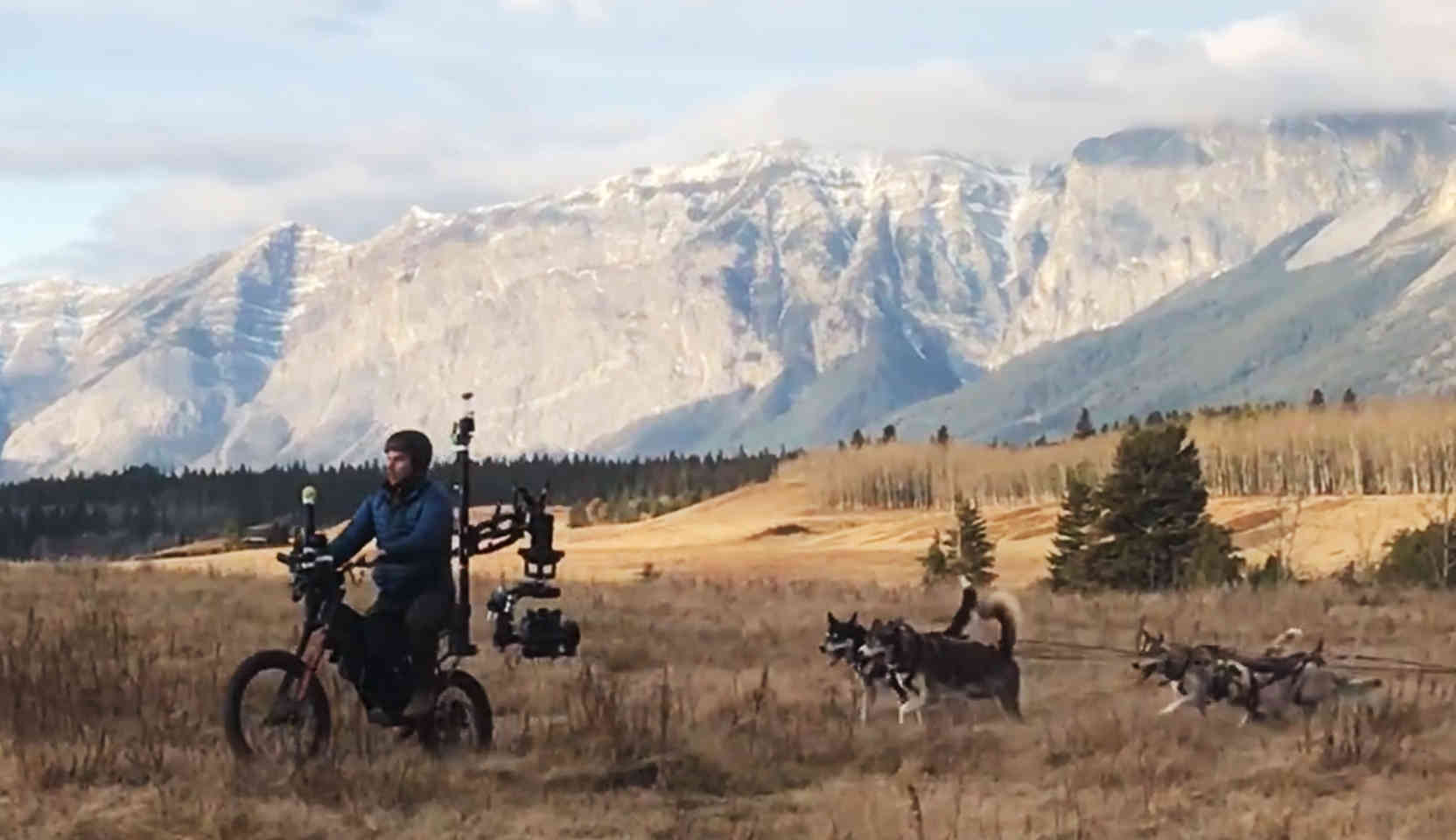 Electric Camera Bike Revered Cinema