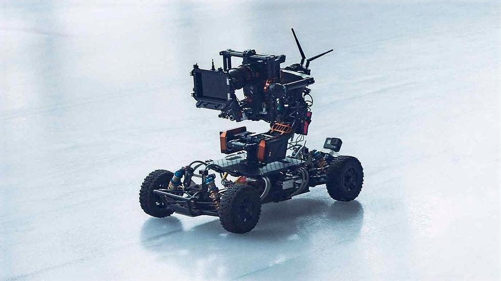 Custom RC Car filming wth Movi Pro camera system