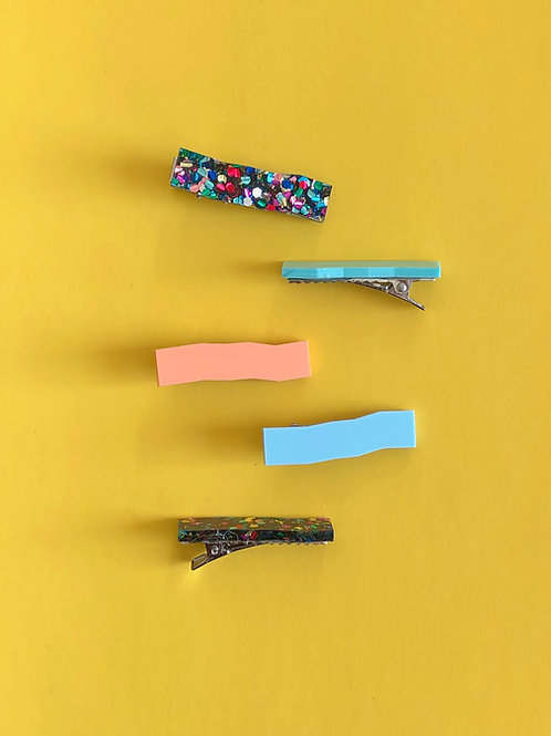 Hair Clips - Small (2pcs)