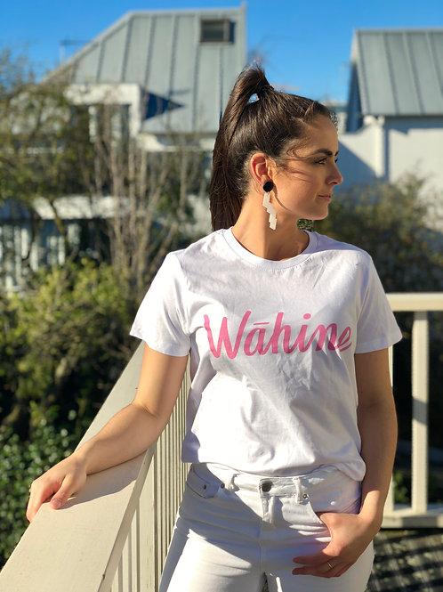 Pink Wāhine Tee - Breast Cancer Fundraiser