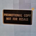 Gold Promo Sticker.