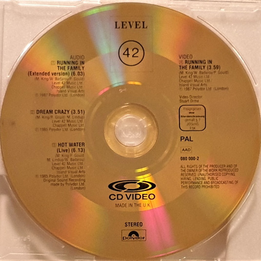 CD Video.