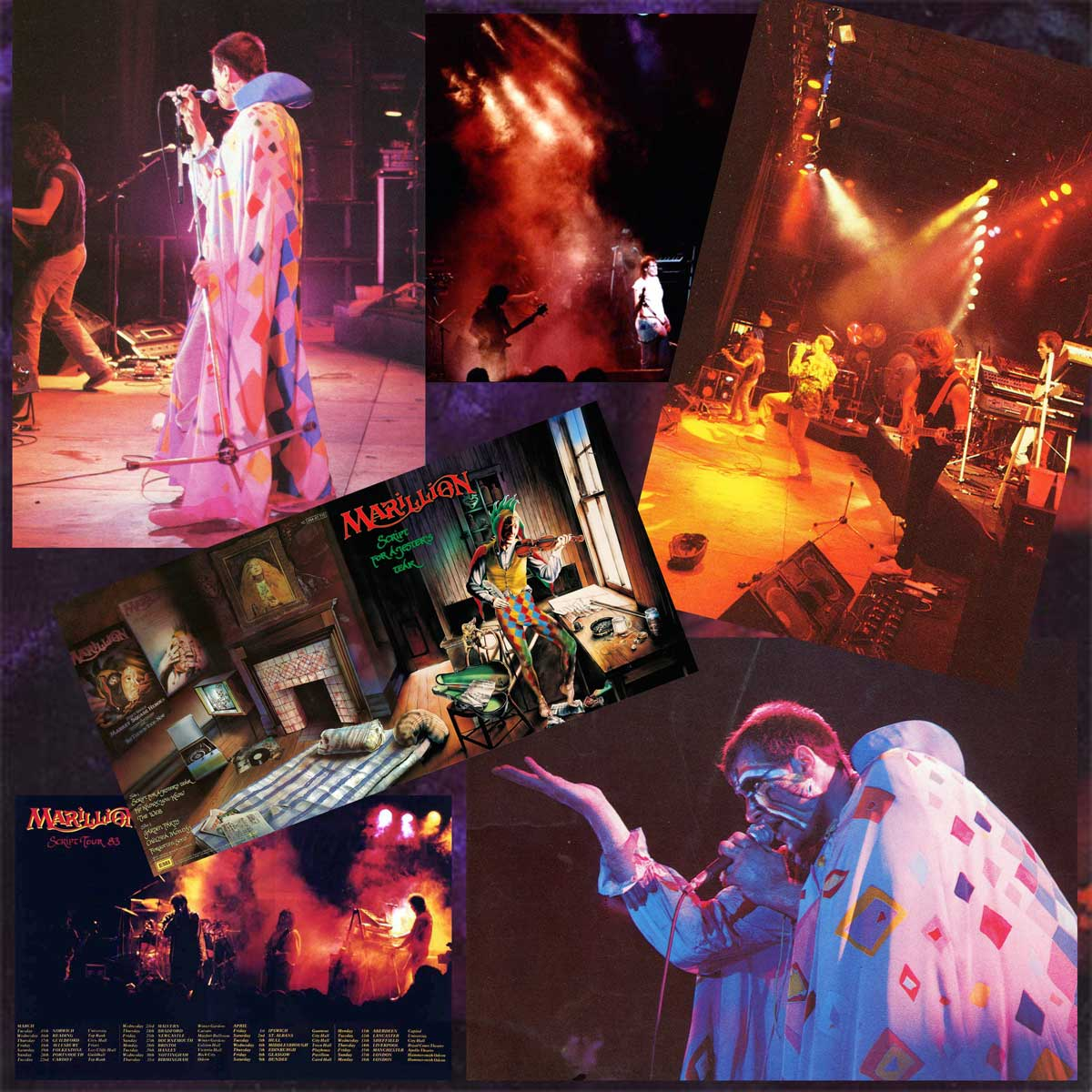 Patchwork de Photos Live 1982-1983