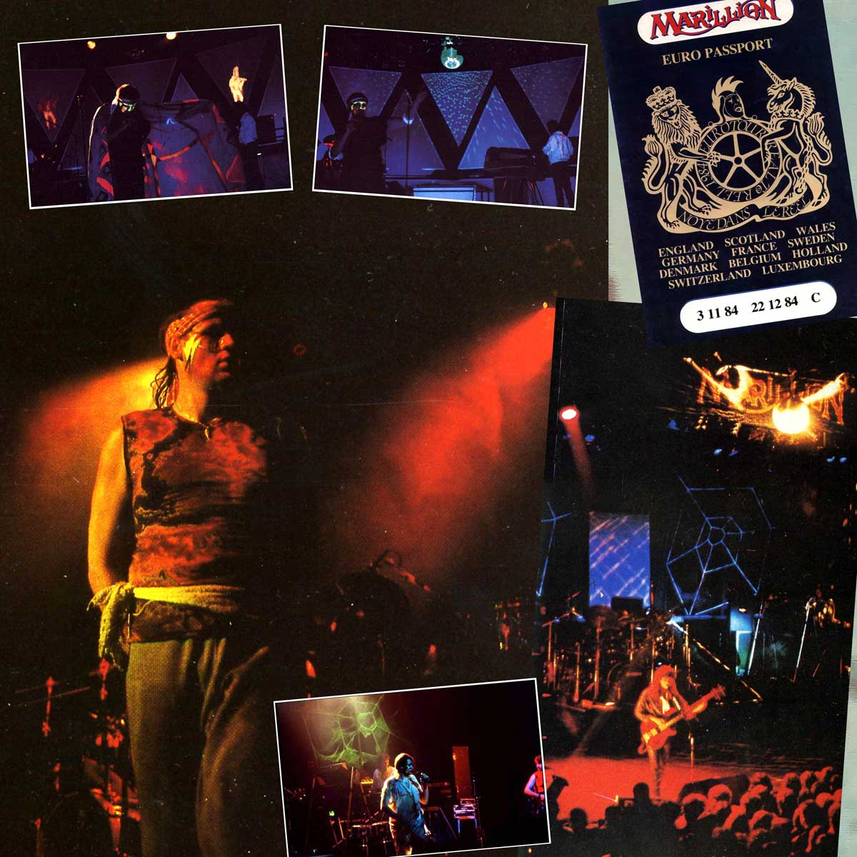 Patchwork de Photos Live 1984