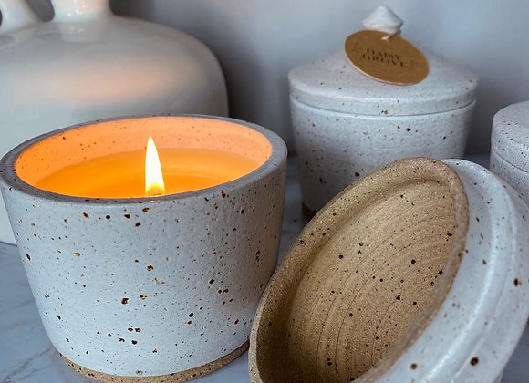 Handcrafted Candle Pot