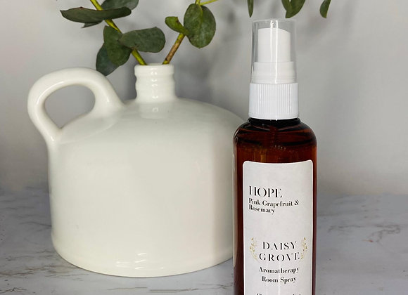 Hope Aromatherapy Room Spray - Pink Grapefruit & Rosemary