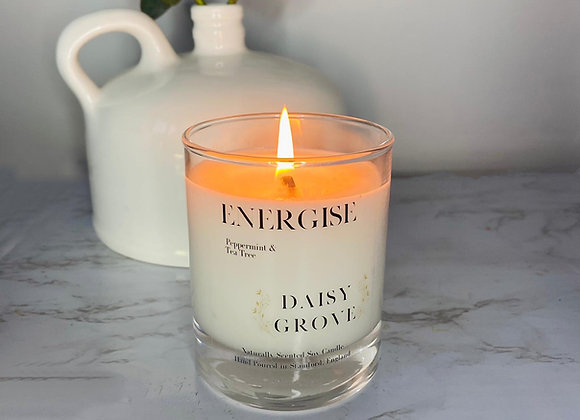 Energise Candle - Peppermint & Tea Tree
