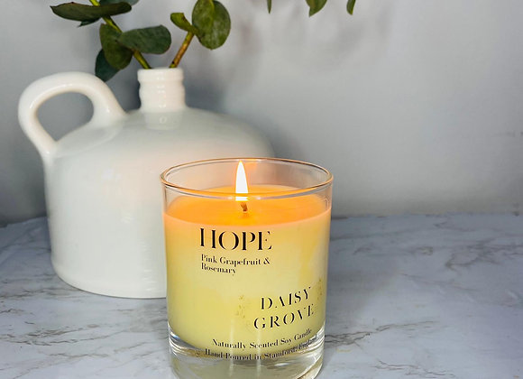 Hope Candle - Pink Grapefruit & Roesmary