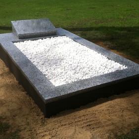 Single Granite Monument