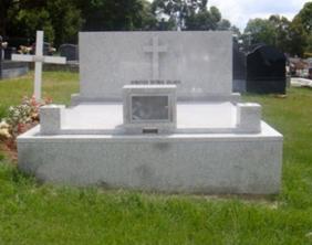 Double Granite Memorial