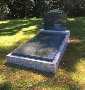 Multi Granite Single Monument