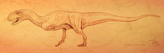 Majungasaurus full body
