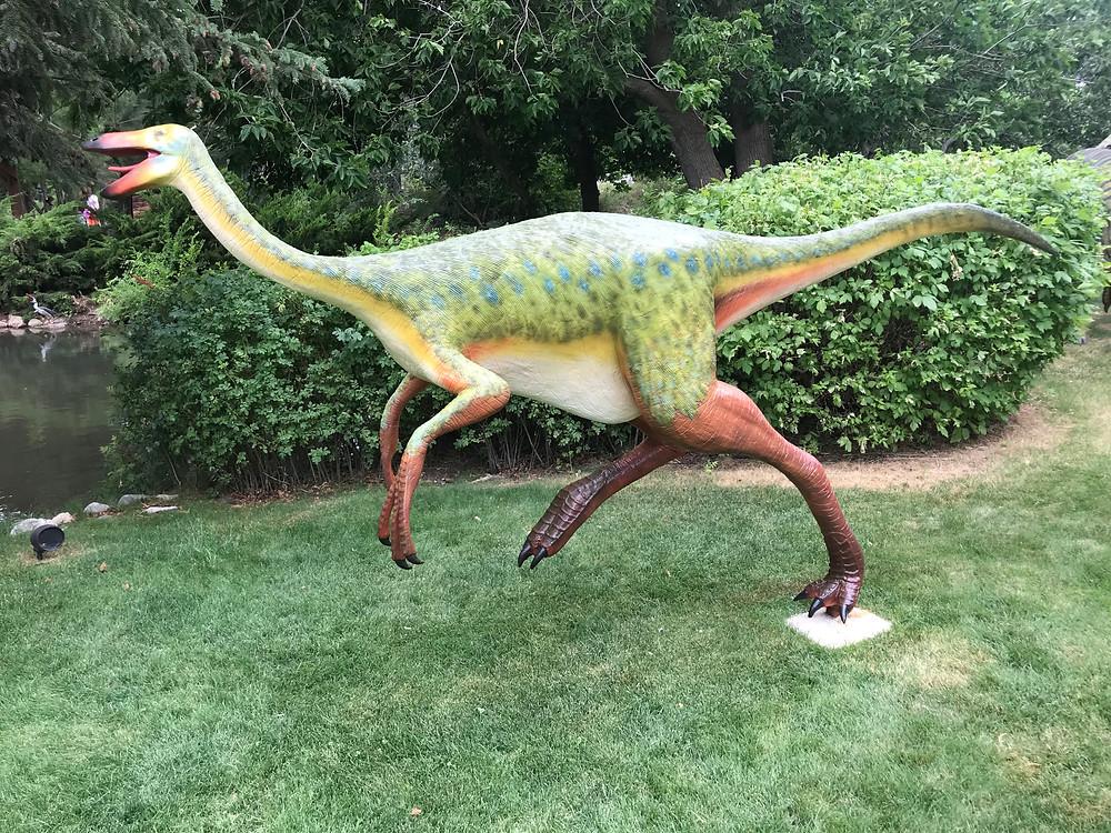 Paraxenisaurus: mas grande and menos vamanos than this dinosaurios.