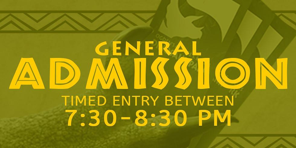 Dinos in the Dark! 10/15 General Admission Slot B