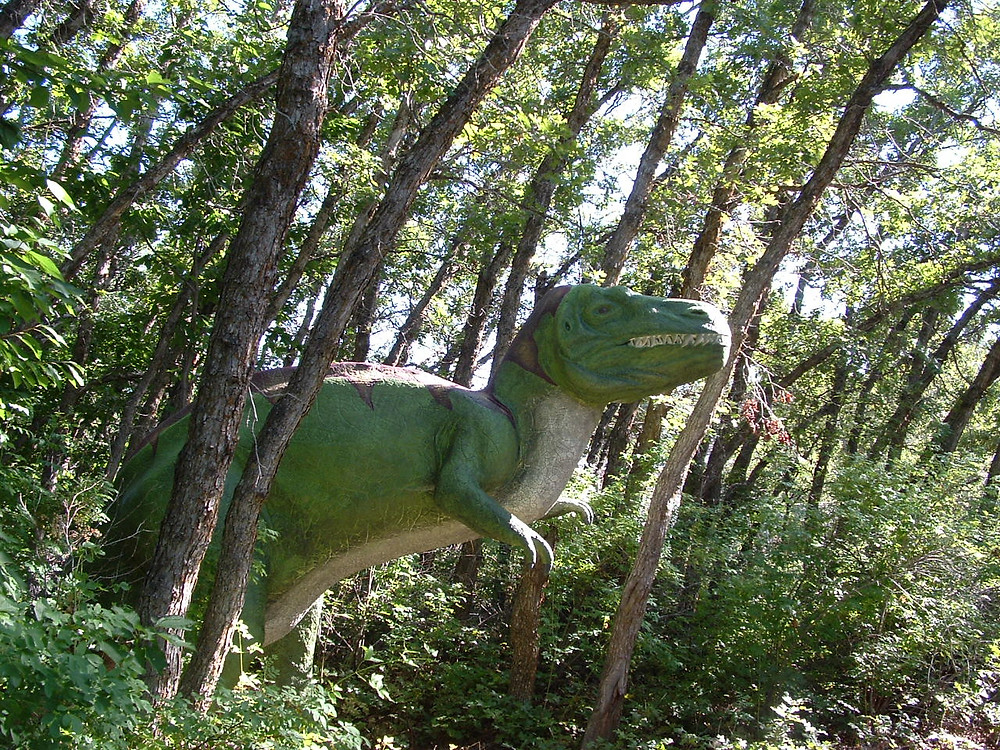 And that's when the attack comes. Not from the front, but from the side . . . from the other five Allosaurs you didn't even know were in the park.