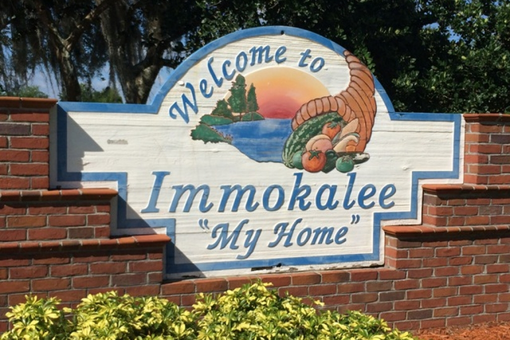 Immokalee Sign