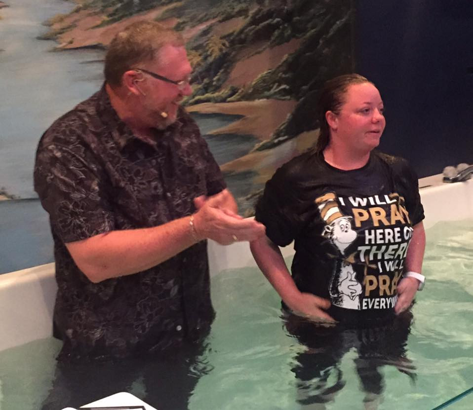 Jessica Perry - Baptized
