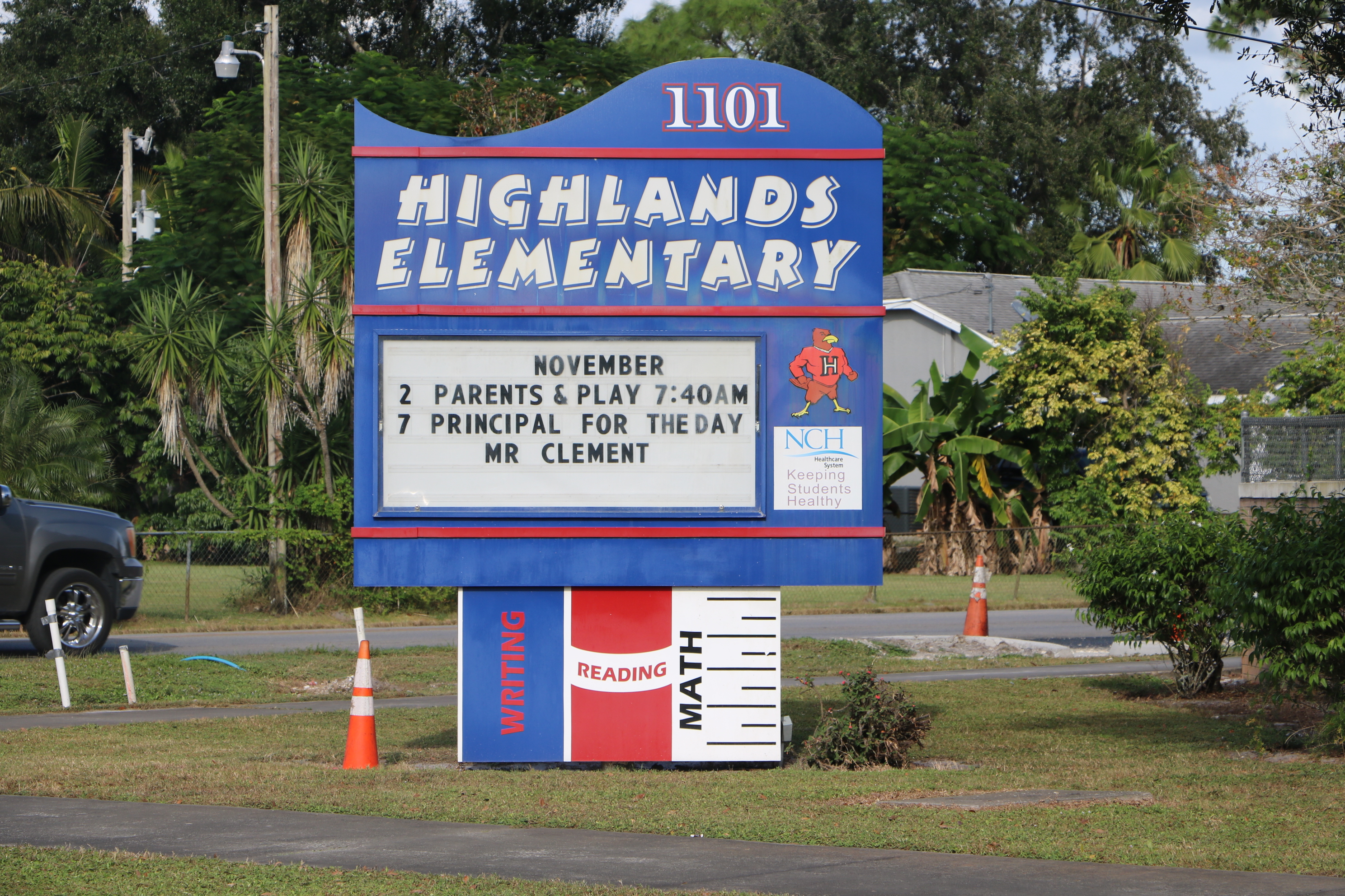 Mascot for Highland Elementary School