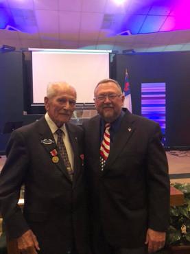 Floyd Bloomquist & Pastor Benny