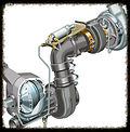 fuel and exhaust system