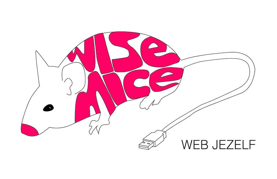 Logo Wisemice Groningen met WEBJEZELF
