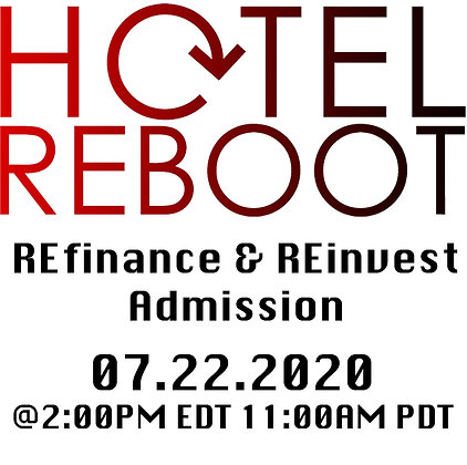 Refinance & Reinvest: Hotel Lenders Admission
