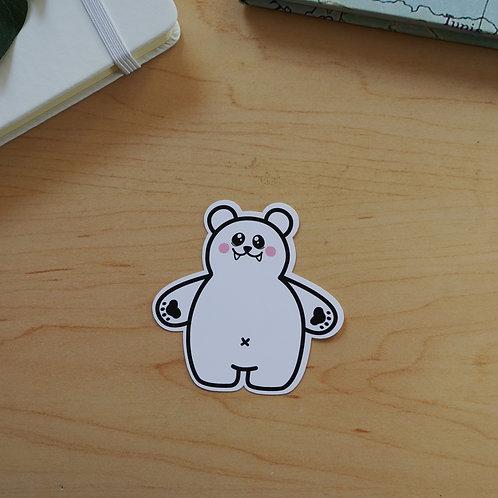 Polar Bear Sticker - Weatherproof