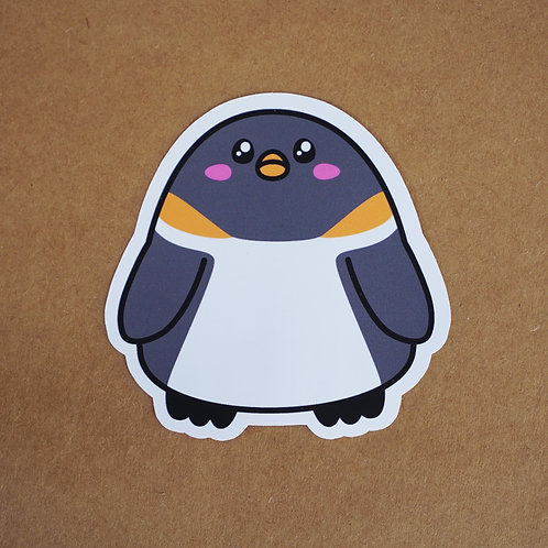 Emperor Penguin Sticker - Weatherproof