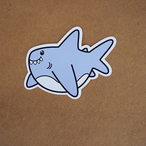 Great White Shark Sticker - Weatherproof