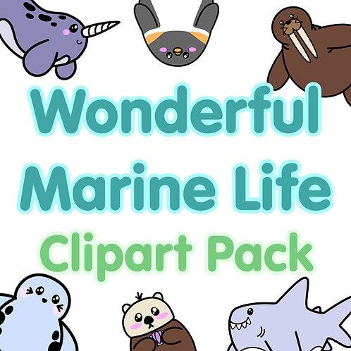 Marine Life Clipart