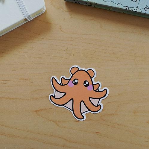 Vampire Squid Sticker - Weatherproof