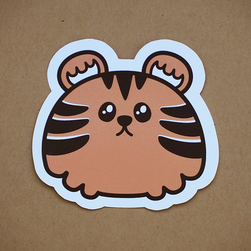 Tiger Sticker - Weatherproof